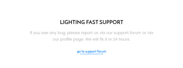 Support and Report Bugs