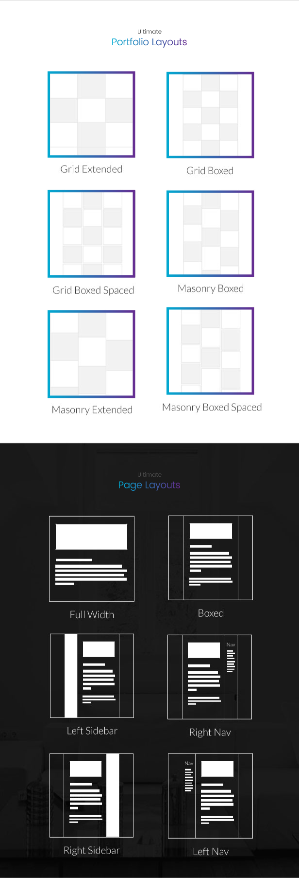 Portfolio and Page Layout